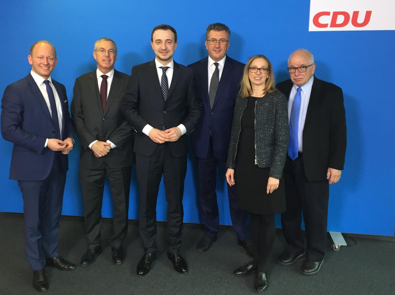 LNET Deutschland traf Paul Ziemiak und Gitta Connemann zu politischen Gesprächen
