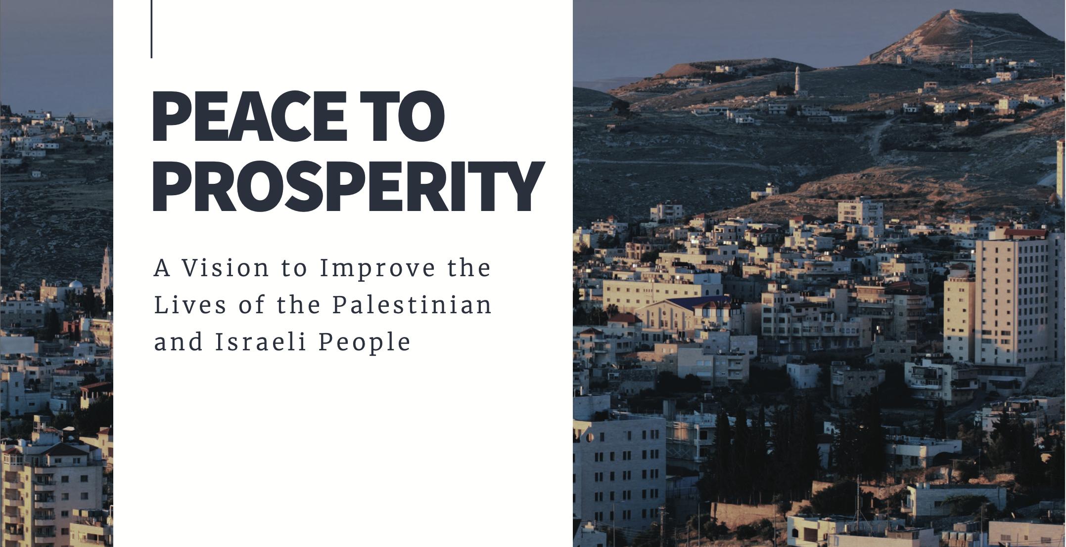Veröffentlichung des Nahost-Friedensplans